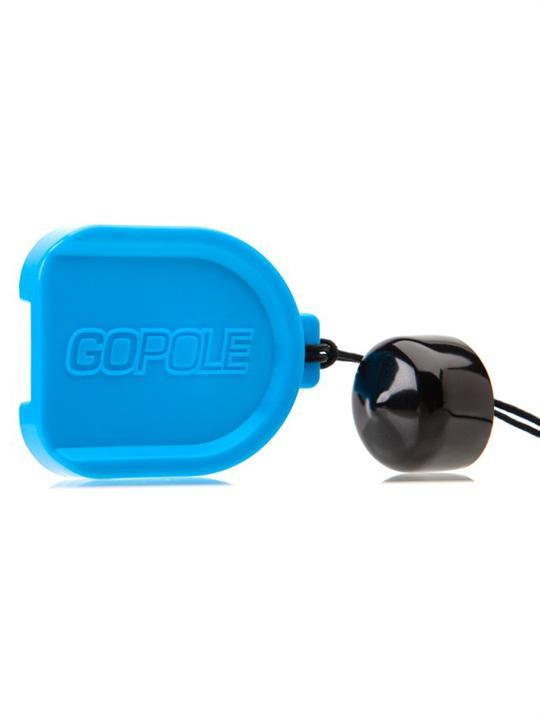 Foto Accesorios Para La Cámara Go Pole Lens Cap Kit For Gopro Hero 1 And 2 Cameras. Azul
