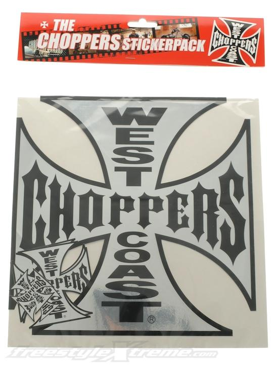 Foto Adhesivo Variety Sticker Pack de pulgadas West Coast Choppers