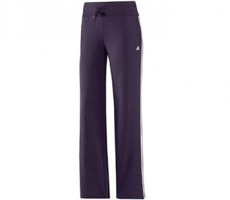 Foto Adidas - Pantalones running Mujer Essentials 3S Knit Pant - lila - M foto 392468