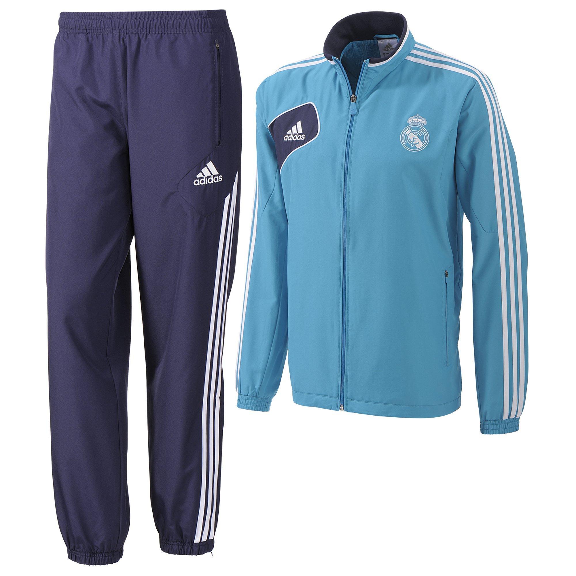 Футбольный спортивный костюм парадный Реал Мадрид ADIDAS. 8f46d902b5b