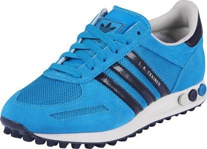 adidas la trainer azul turquesa