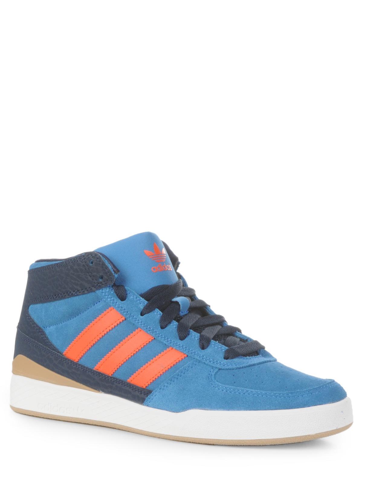Adidas Azul Y Naranja