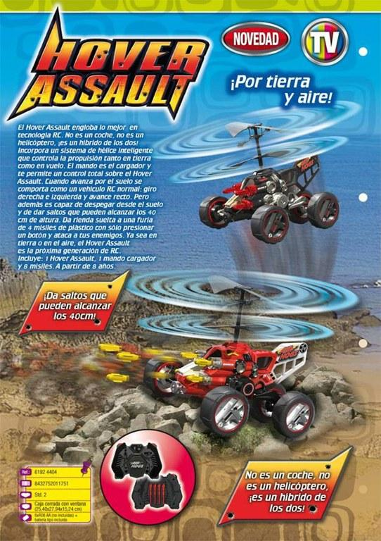 air hogs hover assault instructions