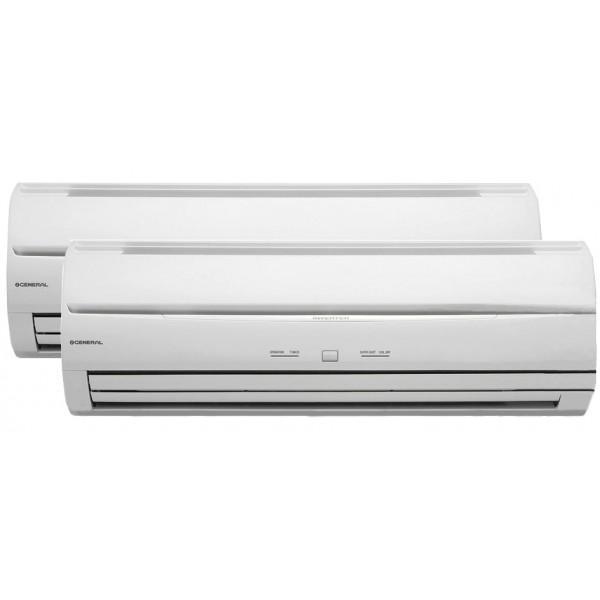 Foto aire acondicionado split cassette inverter general for Aire acondicionado general fujitsu