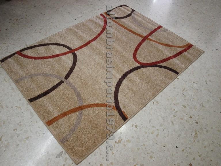 Foto alfombra lana moderna pasillo cuadritos cen 2216 foto 271878 - Alfombras crevillente ...