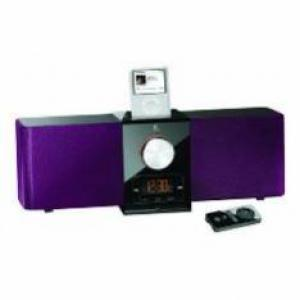 Foto Altavoces logitech pure-fi express plus morado para ipod / iphone