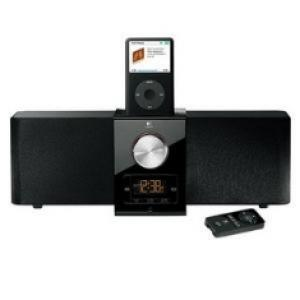 Foto Altavoces logitech pure-fi express plus negro para ipod / iphone