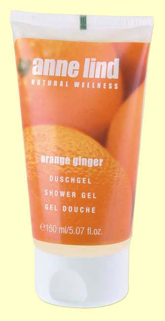 Foto Anne Lind Body Gel Orange Ginger - Gel de ducha - Anne Marie Börlind - 150 ml