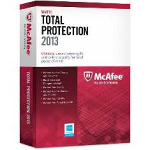 Foto Antivirus mcafee total protection 2013 3 usuarios