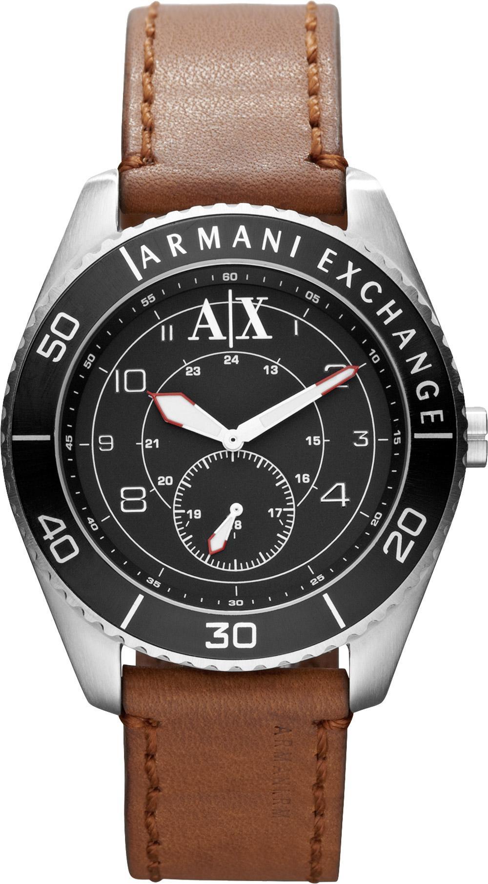 Foto ax4050 armani exchange ladies eva black silver watch for Imagenes de relojes