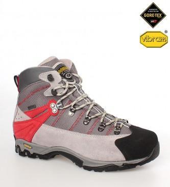 Foto Asolo. Botas de trekking/alpinismo Vico 12 GV MM gris, rojo, negro-Con foto 176389