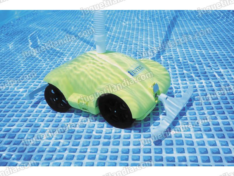 Foto piscina intex rectangular 260x160x65cm foto 162563 for Limpiafondos piscina intex