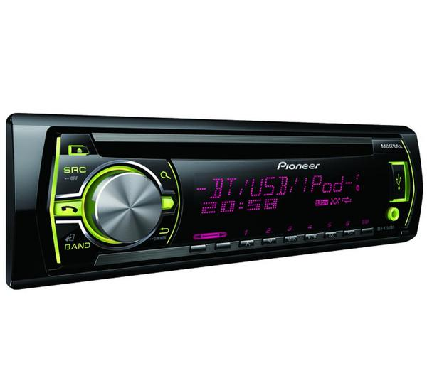 Foto autorradio cd mp3 usb ipod bluetooth deh x5500bt