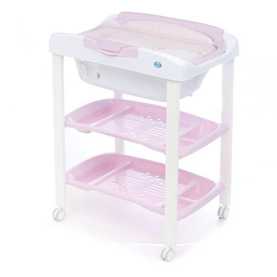 Foto ba era cambiador rosa cambrass foto 873771 for Banera plastico bebe