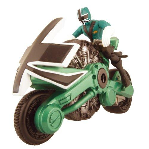 Foto Bandai Power Ranger Samurai - Figura (10 cm) y moto, color verde foto 39123