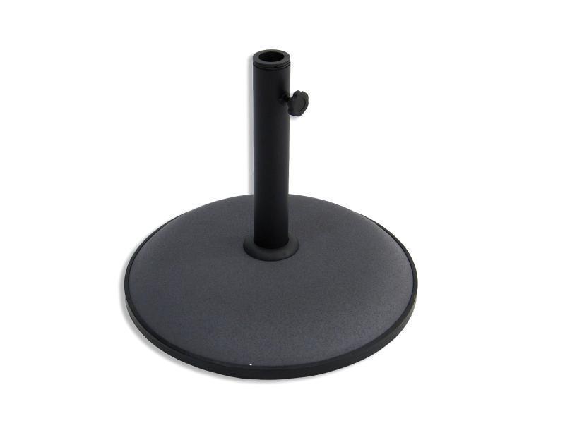 Foto base parasol cemento 15kg gris 81044 foto 128891 - Base para sombrilla ...