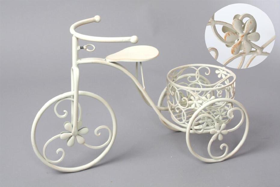 Foto bicicleta macetero forja 1maceta foto 512257 - Bicicleta macetero ...