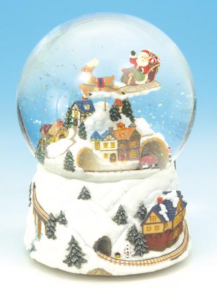 Foto bolas de nieve musicales bola de agua de cristal - Bola nieve cristal ...
