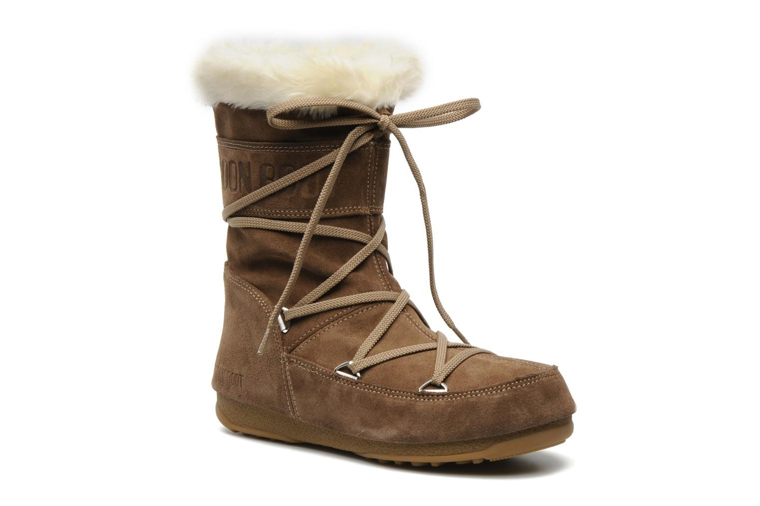 35d7f2d87796c Foto Boots y Botines Moon Boot Butter mid Mujer foto 378530