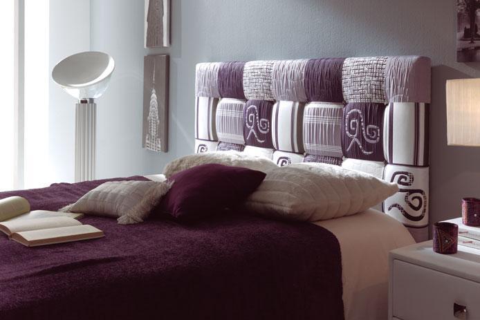 Foto cabecero 150cm patchwork foto 120487 - Cabeceros de cama tapizados tela ...