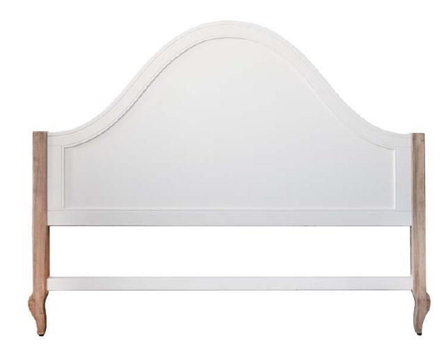 Foto cabecero cama 160 roble blanco campo foto 658030 - Cabecero cama blanco ...