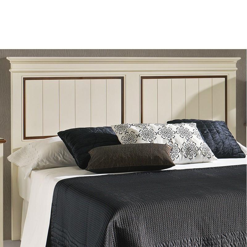 Foto cabecero de cama con 2 aspas en madera de haya - Fotos de cabeceros de cama ...