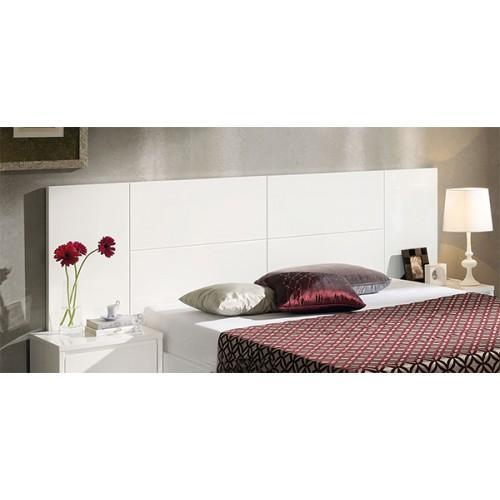 Foto zapatero de madera lacado en blanco brillo 3 huecos - Sweet home decora ...