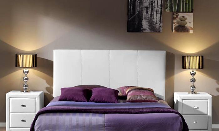 Foto mesa elevable oxford foto 749525 - Cabecero polipiel blanco ...