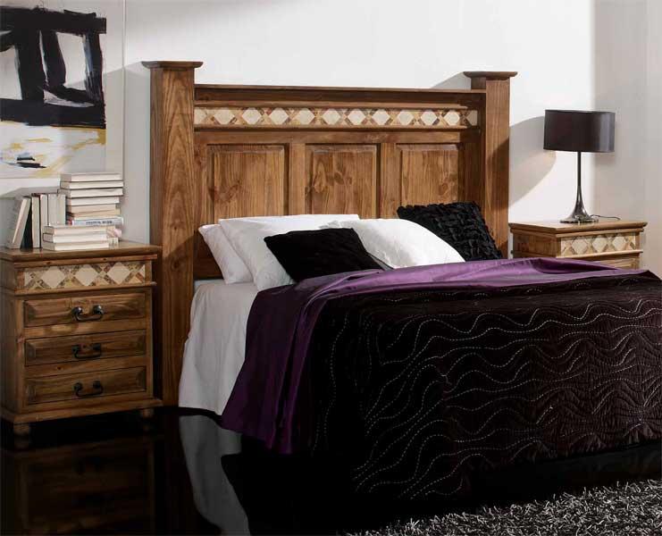 Foto cabecero cuadrados eco piel cama de 160 foto 602537 - Cabeceros de cama rusticos ...