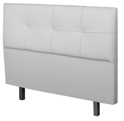 Foto cabecero tapizado chocolate polipiel chester 1 50 - Cabecero tapizado blanco ...