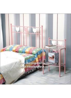 Foto cabecero y cama de forja juvenil c 57 foto 191661 for Cabeceros cama juvenil
