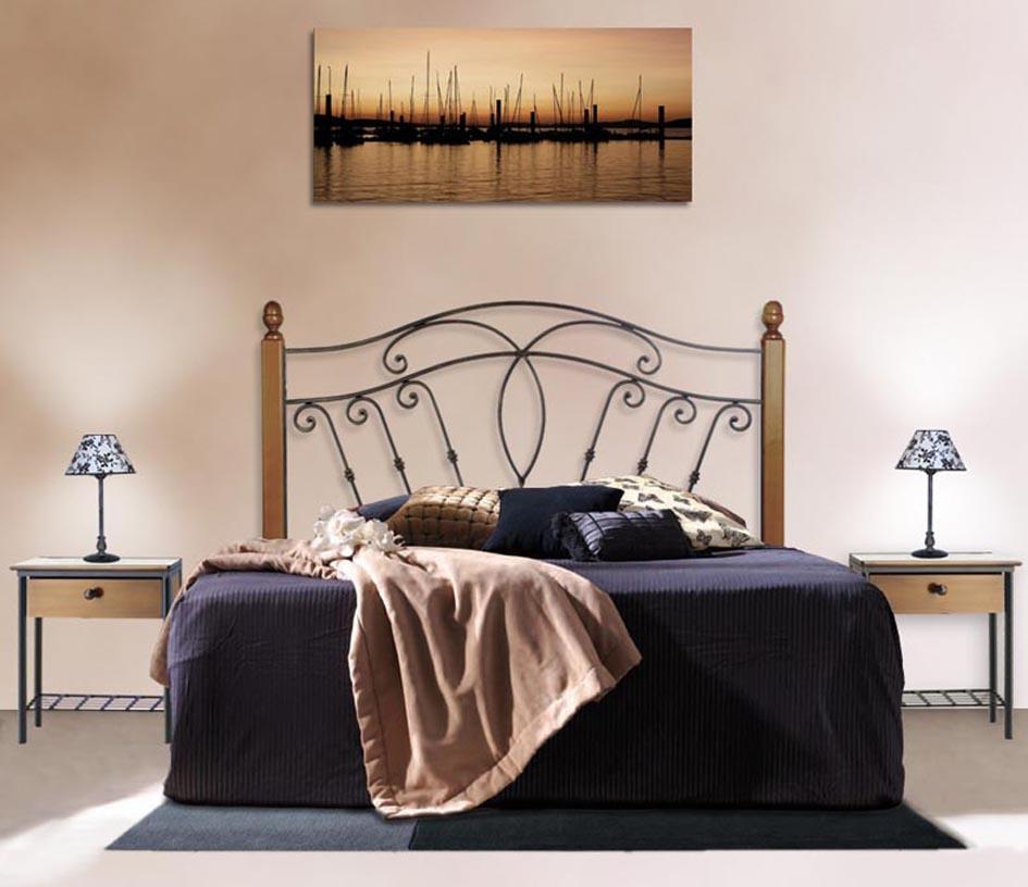 Foto cabeceros con postes de madera modelo cuba foto 326480 - Cabeceros con fotos ...