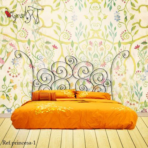 Foto cabeceros de cama cabecero de forja mod princesa - Cabeceros cama de forja ...