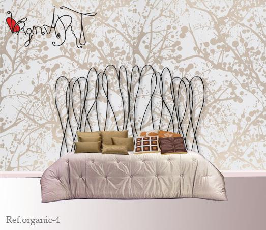 Pin mesas forja cabeceros cabezales muebles camas pictures - Cabezales de forja ...