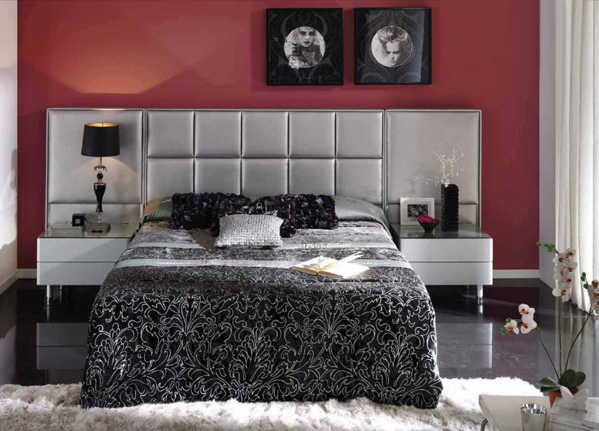 Foto muebles zapateros de madera modelo low cost - Cabeceros tapizados fotos ...