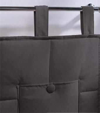 Foto cabezal cama acolchado con trabillas foto 329761 for Cabezal cama acolchado