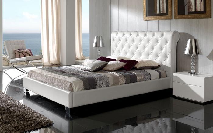 Foto cabezal de cama 150 mod nuria foto 458898 for Cabezal cama acolchado