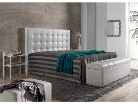 Foto cabezal de cama tapizado en polipiel foto 197532 - Cabezal cama polipiel ...