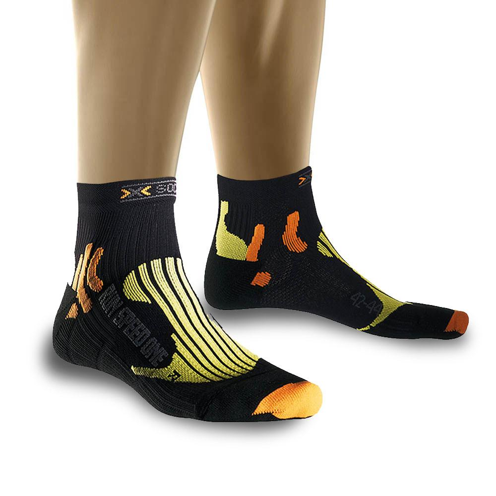 Foto Calcetines X-Socks Speed One negro lima