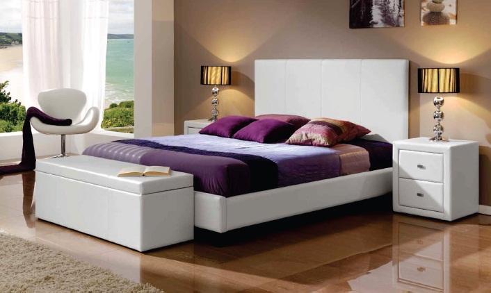 Foto cabecero capitone blanco nuria 150 foto 380150 - Cabezal cama tapizado ...