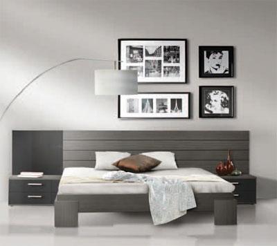 Foto habitacion juvenil en arce blanco o cerezo modelo for Muebles baratos terrassa