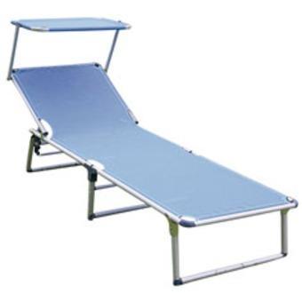 foto cama hamaca tumbona aluminio plegable fibreline On tumbona de playa plegable