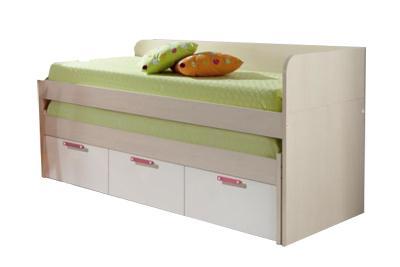 Foto cama nido 2 camas 3 cajones con suplemento para for Cama nido con colchones