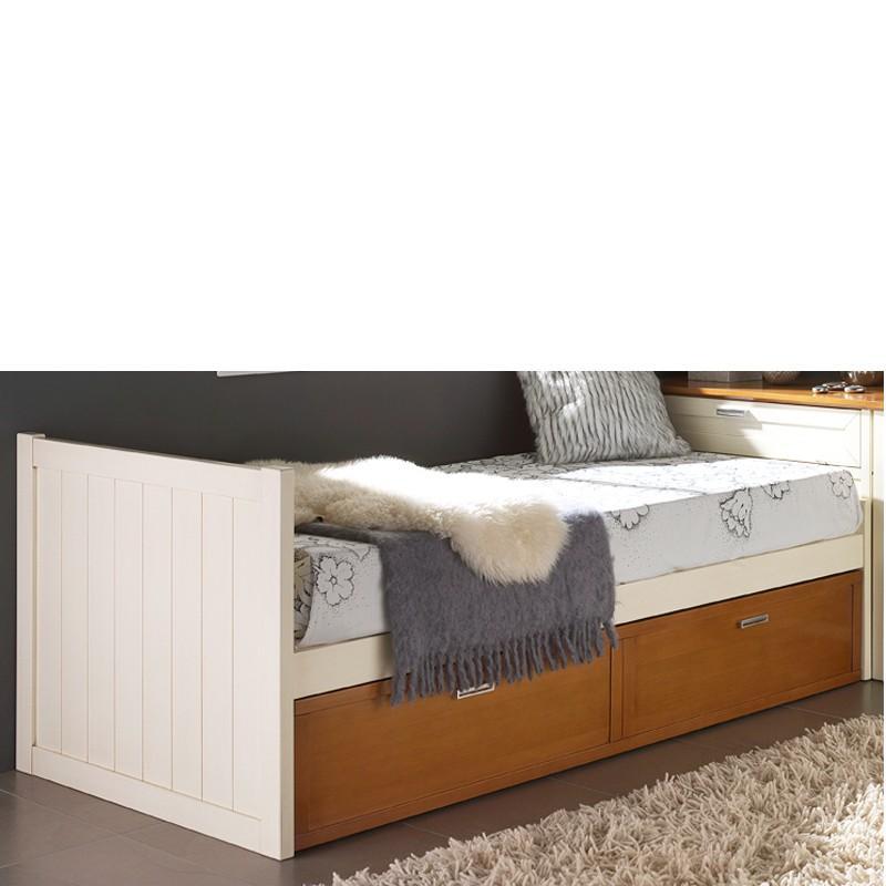 Foto cama nido modelo barco foto 138392 for Cama nido con cabecero