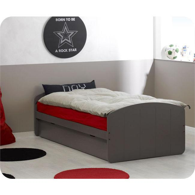 Foto cama nido juvenil 90x190cm dream 39 in chocolate madera - Camas nido de madera ...
