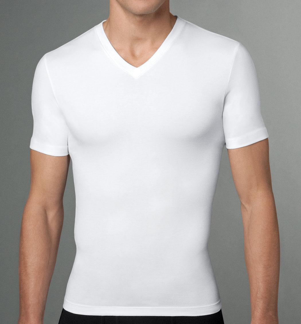 Foto spanx calzones de lycra de cintura alta foto 972457 for Camisetas de interior hombre