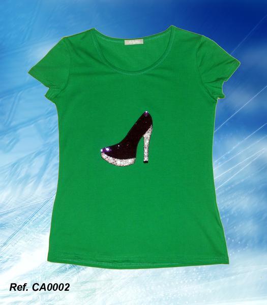 Foto Camiseta mujer Xispi Zapato Negro foto 686900