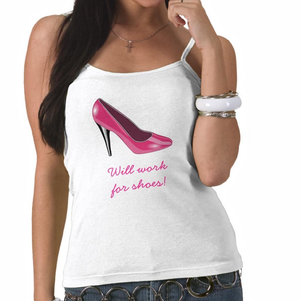 Foto Camiseta rosada del zapato del tacón alto foto 906772