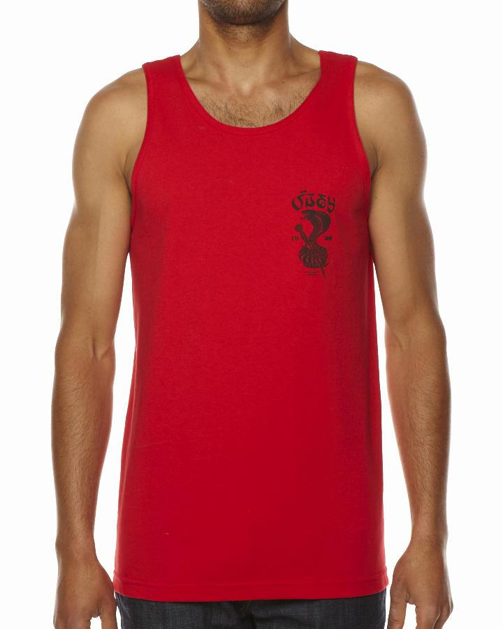 Foto Camiseta Sin Mangas Eplurcobra De Obey - Rojo foto 656032