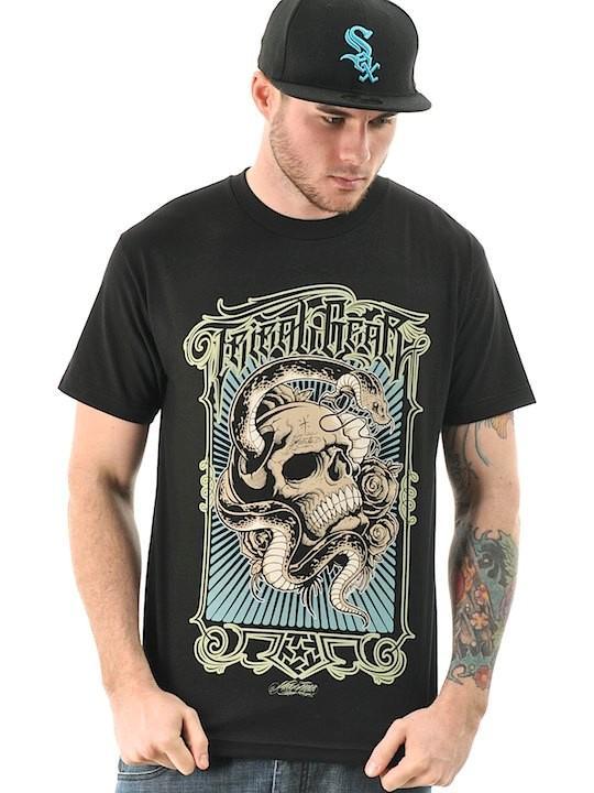 Foto Camiseta Tribal Streetwear Snake Negro foto 755918